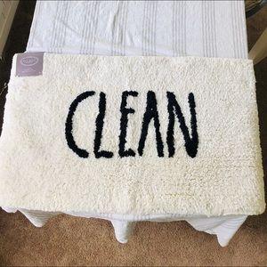 NWT Clean Bath Mat from Rae Dunn